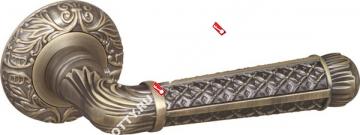Ручка дверная раздельная Fuaro LORD SM MAB-6