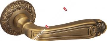 Ручка дверная раздельная Fuaro LOUVRE SM AB-7 (Матовая бронза)