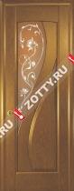 Межкомнатные двери Ульяновские двери МАРИЯ (Стекло Канадский Дуб)