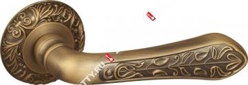 Ручка дверная раздельная Fuaro MONARCH SM AB-7 (Матовая бронза)