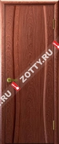 Межкомнатные двери Ульяновские двери ДИАДЕМА (Глухая Красное Дерево)