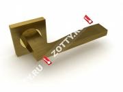 Ручка дверная раздельная Fuaro ROCK KM AB/GP-7