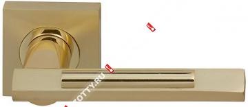 Ручка дверная раздельная Fuaro TANGO KM SG/GP-4
