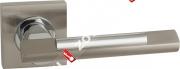 Ручка дверная раздельная Fuaro TANGO KM SN/CP-3