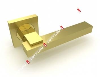 Ручка дверная раздельная Fuaro BLUES KM SG/GP-4