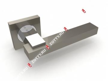 Ручка дверная раздельная Fuaro BLUES KM SN/CP-3