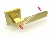 Ручка дверная раздельная Fuaro ETHNO KM SG/GP-4