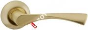 Ручка дверная раздельная Fuaro CLASSIC AR SG/GP-4 квадрат 8x130 мм
