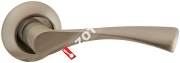 Ручка дверная раздельная Fuaro CLASSIC AR SN/CP-3 квадрат 8x130 мм