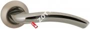 Ручка дверная раздельная Fuaro LOUNGE AR SN/CP-3 квадрат 8x130 мм