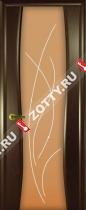 Межкомнатные двери Ульяновские двери ДИАДЕМА 2 Бренди