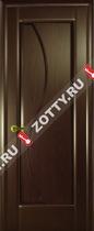 Межкомнатные двери Ульяновские двери ФЛОРА (Глухая Бренди)