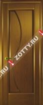 Межкомнатные двери Ульяновские двери ФЛОРА (Глухая Канадский Дуб)