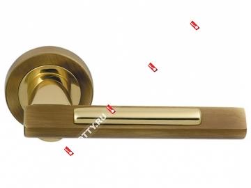 Ручка дверная раздельная M.B.C. ANTARES (Бронза)