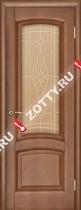 Межкомнатные двери Ульяновские двери ЛАУРА (Стекло Темный Анегри)