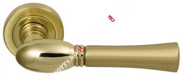 Ручка дверная раздельная M.B.C. Astra (Матовое золото)