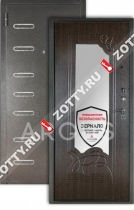 Сейф-дверь Аргус «ДА-6 ЭЛИС»