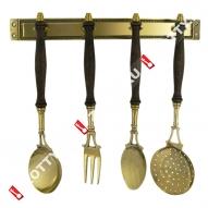 Декоративный кухонный набор STILARS (Латунь)