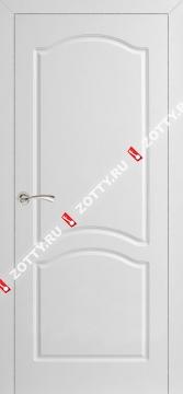 Дверь белая ДГА (серия Ампир)