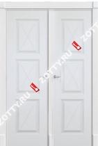 Дверь двустворчатая ТРИО F