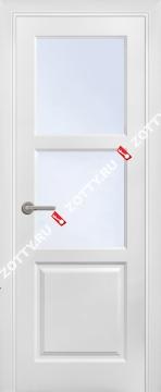 Дверь окрашенная ТРИО (2 верхних стекла)