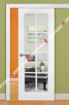 Дверь раздвижная Порта зеркало