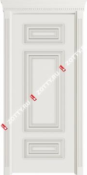 Двери с багетом Барселона ДГ