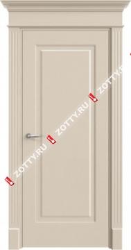 Дверь кремовая ДГ Прима (Офрам)