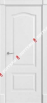 Дверь белая Грация 2 ДГ