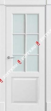 Дверь Классика ДО (6 стекол решетка)