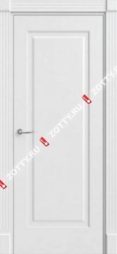 Дверь белая Порта 2 ДГ