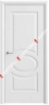 Дверь белая ДГ Олимп 6