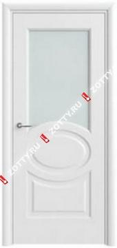 Дверь белая ДО Олимп 6