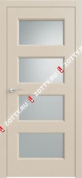 Дверь КВАДРО 6 ДО RAL 1013