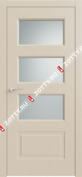 Дверь КВАДРО 6 ДО RAL 1013 2