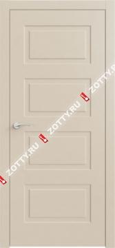 Дверь КВАДРО 6 ДГ RAL 1013
