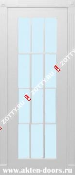 Дверь окрашенная Порта ДО (12 стекол)