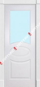 Дверь окрашенная ОЛИМП стекло (1 верхнее)