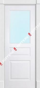 Дверь окрашенная ТУРИН стекло (1 верхнее)