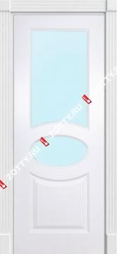 Дверь окрашенная ОЛИМП стекло (2 верхних)