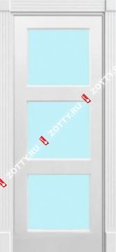 Дверь Трио 1 ДО (3 стекла)