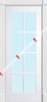 Дверь окрашенная ПОРТА (8 стекол)