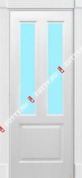 Дверь Модерн 1 ДО (2 стекла)