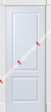 Дверь белая модель КЛАССИКА 1