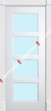 Дверь окрашенная Квадро 4