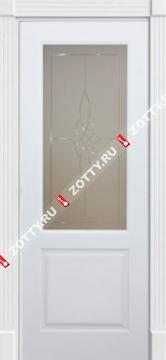 Дверь Классика 1 ДО (1 стекло)