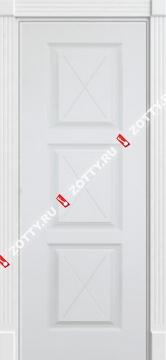 Дверь окрашенная ТРИО F