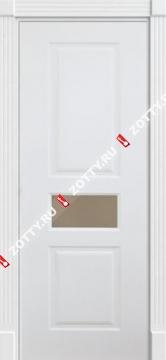 Дверь окрашенная ТУРИН (центральное стекло)