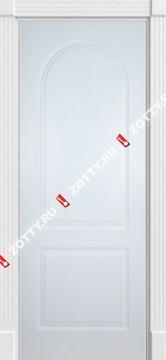 Двери белая ДГК (аркая, гладкое, глухое)
