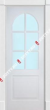Дверь белая 2ДКР (серия Ампир)